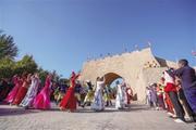 喀什古城渐成影视拍摄基地