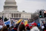 现场直击美国国会遭暴力冲击 国际社会震惊