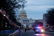 总统就职典礼前的美国华盛顿